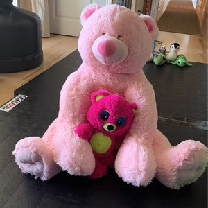 "$29 30"" Pink Bear Stuffed Animals for Sale in Corte Madera, CA"