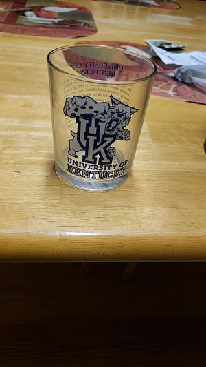 U of k collecters glass it's rare for Sale in Louisville, KY