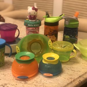Toddler | Baby Bowls, Snack Cups + Sippy Cups for Sale in Brielle, NJ