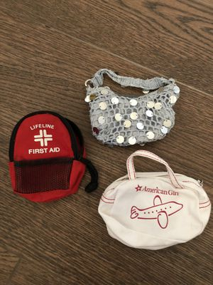 american girl doll bags bundle for Sale in Oro Valley, AZ