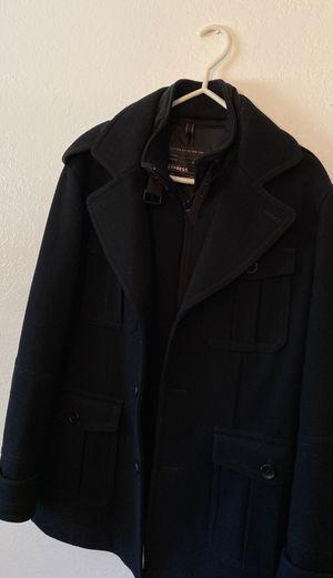 Large men's express pea coat jacket for Sale in Fremont, CA