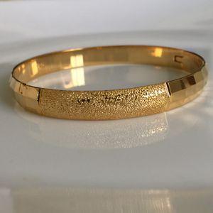 18k gold filled 18k stamped bangle bracelet jewelry for Sale in Silver Spring, MD