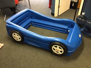 Little tikes race car twin bed frame for for Sale in Warrenville, IL