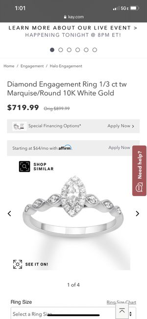 Wedding ring and enhancer for Sale in Bushnell, FL