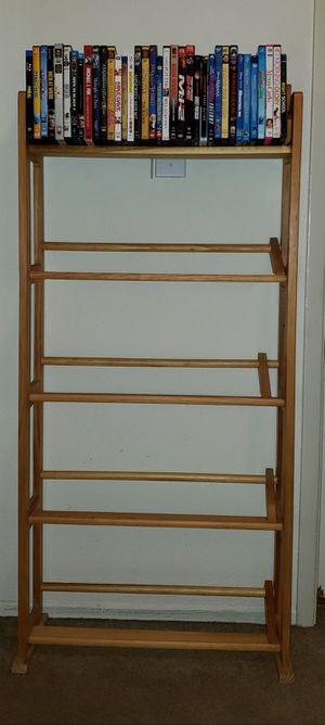 Dvd/blu-ray/media holder/shelf for Sale in San Jose, CA