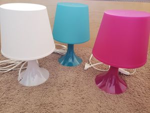 Bedside table lamps for Sale in Homestead, FL