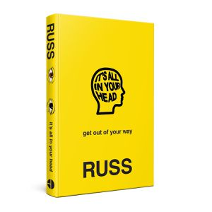 Russ book it's all in your head signed for Sale in Culver City, CA