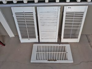 Four small wooden shutters for Sale in Queen Creek, AZ