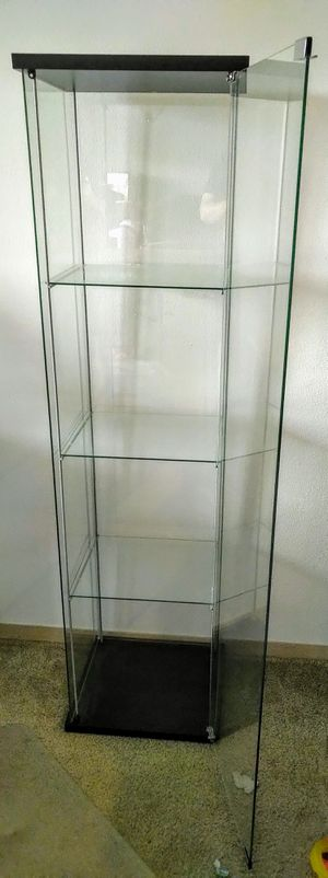 Ikea Glass Display Case for Sale in Vancouver, WA