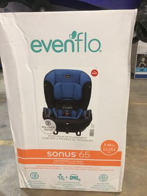 Evenflo Sonus 65 car seat for sale brand new in box! for Sale in Brentwood, MD