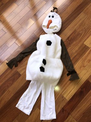 Frozen Olaf Deluxe Halloween Costume ⛄️ for Sale in HALNDLE BCH, FL