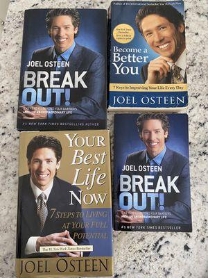 JOEL OSTEEN BOOKS NY BEST SELLER for Sale in Trumbull, CT