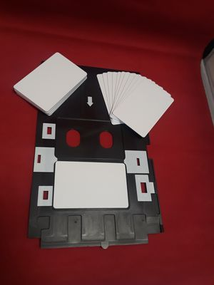 Tray epson PVC + 20 inkjet cards printeable in Epson printers for Sale in Parkland, FL