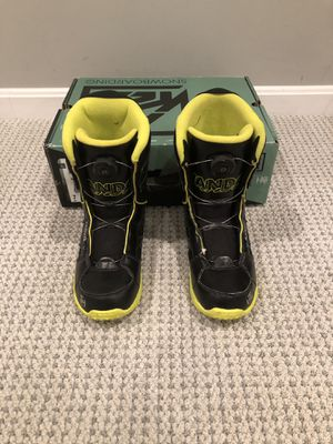 K2 Vandal Snowboard Boots - Boy's/men's size 7 by K2 Snowboarding for Sale in Fairfax, VA