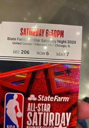 Allstar Saturday Night Dunk Contest for Sale in Chicago, IL