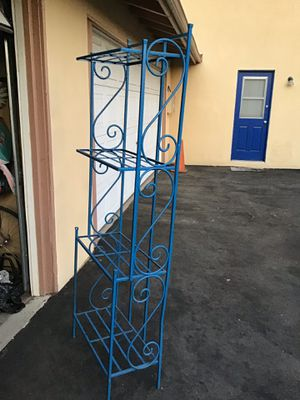 Rack for kitchen or plants any place u want used:Size 6 ft tall x 2 ft w is heavy asking $30 obo for Sale in Orange, CA