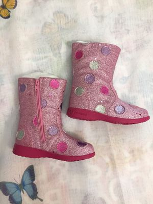 PEDIPED GIRL BOOTS SIZE 23 (7) PINK for Sale in Las Vegas, NV