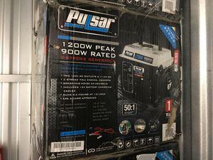 Pulsar 1200w portable generator for Sale in Houston, TX