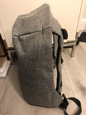 Anti-theft simplistic laptop backpack (silver grey) for Sale in Berkeley, CA