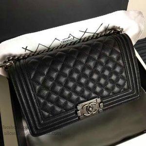 Channel Bag Caviar boy bag for Sale in Medford, MA