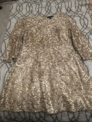 Gold Party Dress for Sale in Cleveland, OH