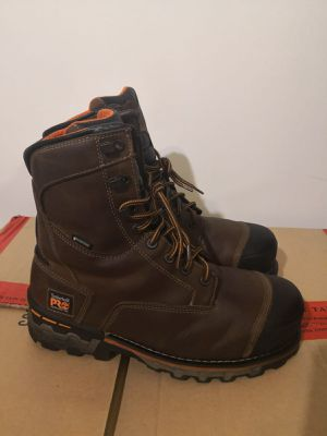 New Timberland pro work boots. Size 10.5w. Waterproof. Antifatige. Composite toe. for Sale in Riverside, CA
