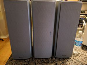 Onkyo speakers for Sale in Chicago, IL