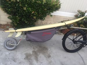 WHEELE SURFBOARD. / KAYAK BICYCLE TRAILER for Sale in Redondo Beach, CA