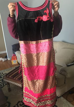 dress with pants and scarf included for Sale in Gaithersburg, MD