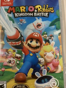 Mario & Rabbids Nintendo Switch Game: Brand new in package for Sale in Covington,  WA