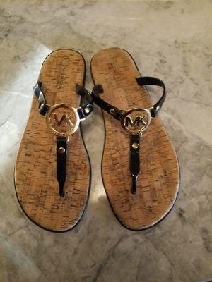 Michael Kors Black and Gold Sandals for Sale in Phoenix, AZ