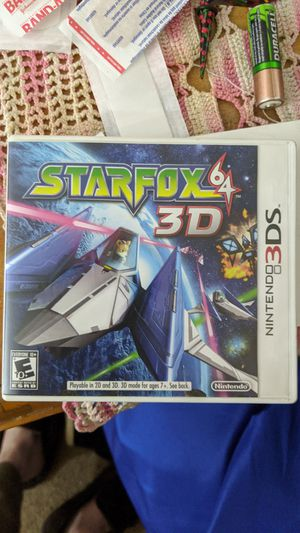 Starfox for 3ds for Sale in Peoria, AZ