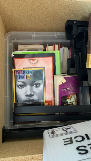 Teen books (Whole bin) for Sale in Douglasville, GA