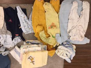 Baby Boy Starter Bundle newborn- 1 year and denim crib bumper for Sale in Glen Ellyn, IL