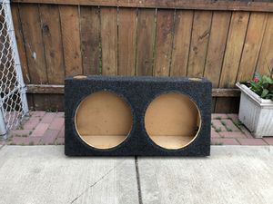 Subwoofer Box for Sale in Chicago, IL