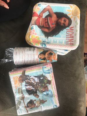Moana themed birthday party favors for Sale in Highland, CA