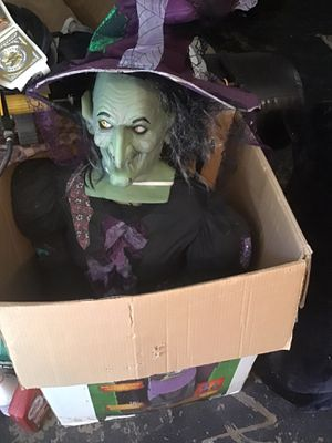 5 foot witch talks when plugged up hard to find for Sale in Sacramento, CA