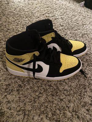 Nike Air Jordan 1s Yellow Toe 10.5 for Sale in Greenville, SC