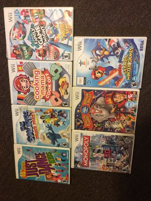 7 different (WII kids games) for Sale in Columbus, OH