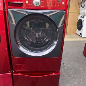 3.9cuf Kenmore washer W/ Pedestal for Sale in Oceanside, CA