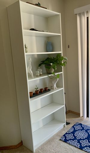 IKEA White Billy Bookcase for Sale in Sunnyvale, CA