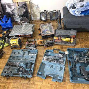 Ridgid Makita Dewalt Tools for Sale in Queens, NY