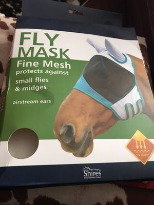 Brand new never use XL horse fly mask with ears for Sale in Orient, OH