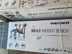 Weider Weight Bench, Brand New! for Sale in Los Angeles, CA