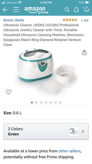 Jewelry Cleaner for Sale in Glendale, AZ