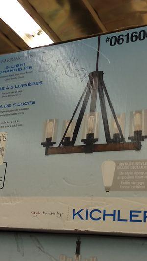 Kichler 5 light chandelier for Sale in Fontana, CA