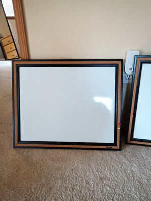 2 White Dry Erase Boards for Sale in Puyallup, WA