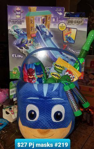 Pj masks Easter basket for Sale in Las Vegas, NV