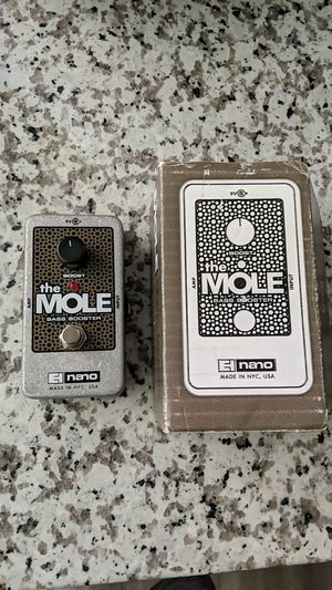 The mole bass booster guitar pedel. for Sale in Portland, OR
