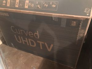 55 inch Samsung curved 7 series 4K smart tv for Sale in Stone Mountain, GA